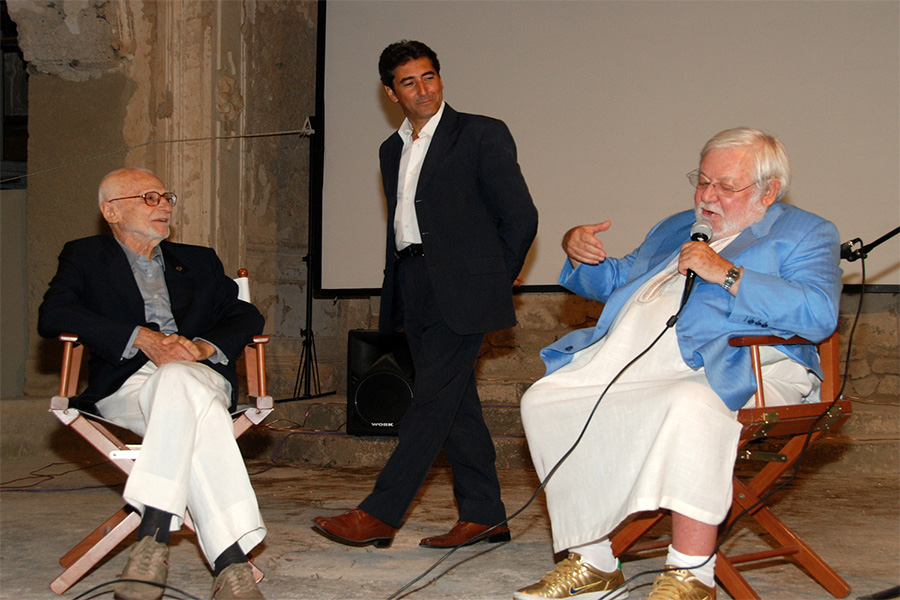 Mario Monicelli, Michelangelo Messina, Paolo Villaggio