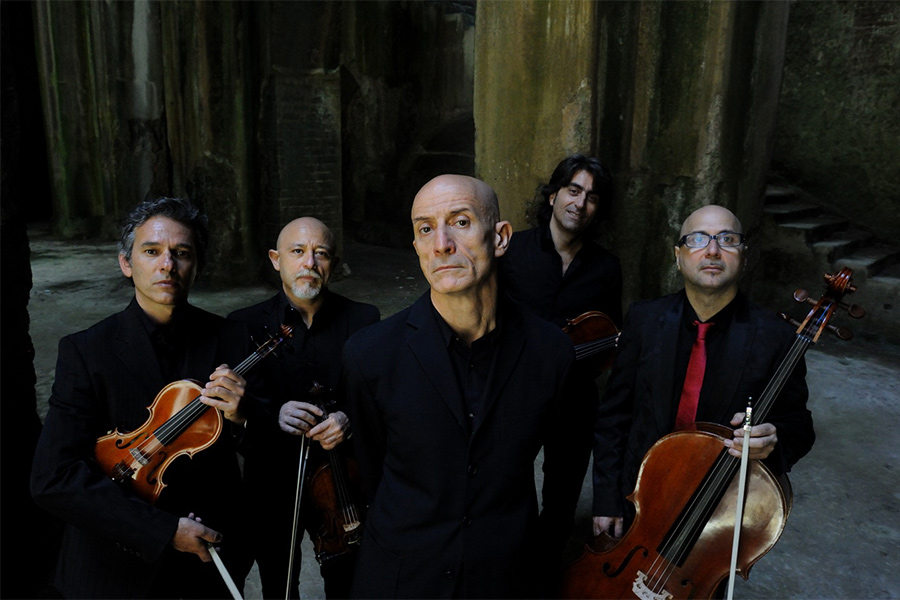 Peppe Servillo & Solis String Quartet